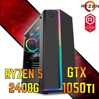 ORDENADOR Ryzen 5 2400G/GTX 1050Ti/8GB/1TB + 120GB