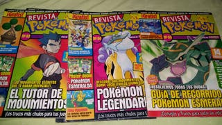 Revistas de pokemon