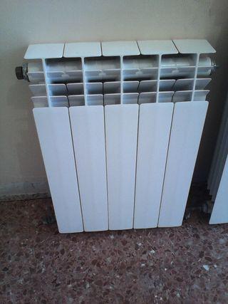 Radiador de aluminio de 5 módulos