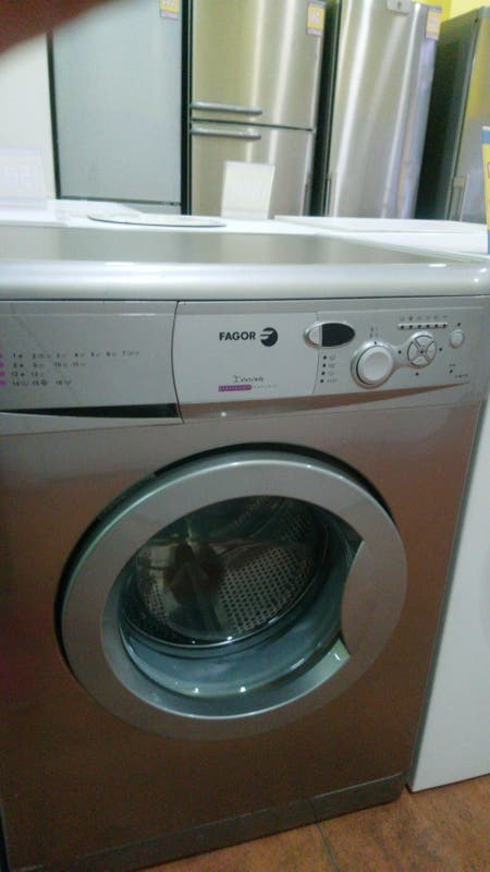 Lavadora Fagor de 6 kg