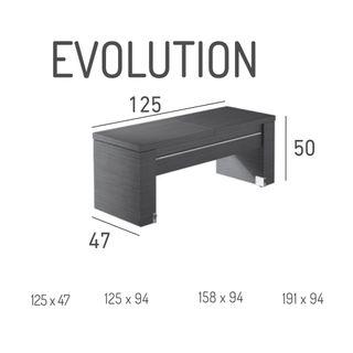 Mesa convertible EVOLUTION