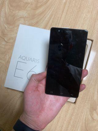 BQ Aquaris E6 roto