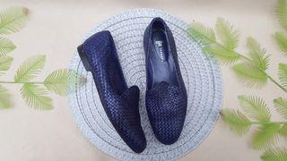FARRUTX zapatos piel trenzada Talla 41
