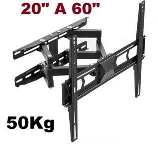 soporte 20' a 60' giratorio e inclinable