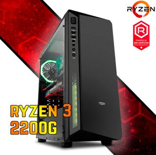 Ordenador Ryzen 3 2200G/8GB/1TBRED Gamer Beginner