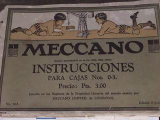 MECCANO original (1940) COLECCIONISTAS!