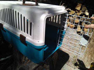 Caja transportin mascota