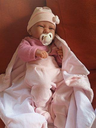bebe recien nacido reborn