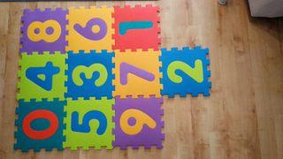 Suelo de tatami foam puzzle colores