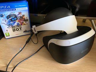 PS VR + PS Camara V2 + Astro Bot