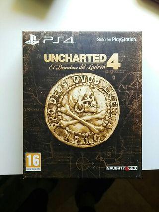 Uncharted 4 edición exclusiva