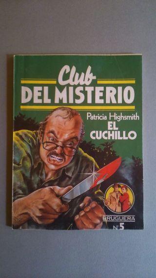 El cuchillo. Nº 5. Club del misterio. Bruguera