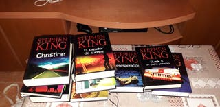 Libro stephen king (14 libros)
