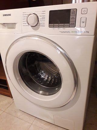 lavadora Samsung de 8 kg de bajo consumo