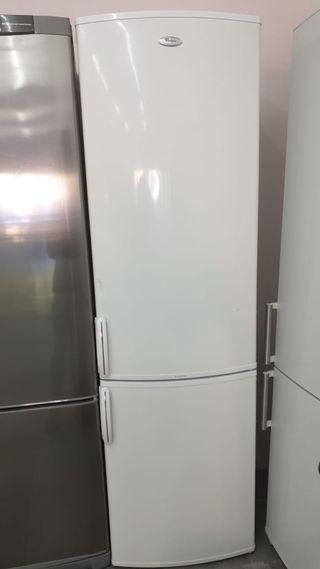 Frigorífico whirlpool 2mx60cm color blanco