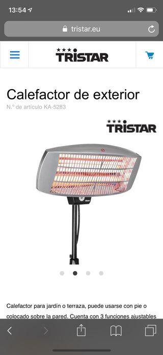 Calefactor de exterior