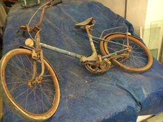 Lote de bicicletas a restaurar negociable