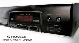 Pioneer de 6 Cds modelo PD-M403 negro