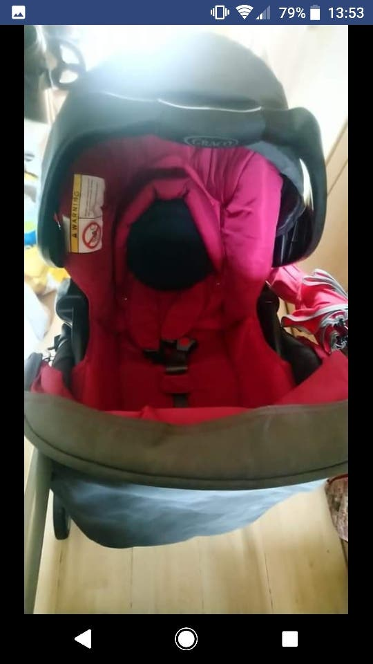 Graco Pram and Baby Carrier