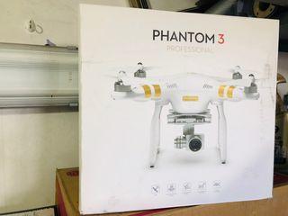 Phantom 3 Profesional Drone caja