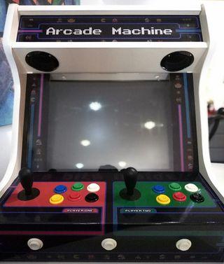 Maquina recreativa arcade 2 jugadores nueva