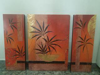 Conjunto de cuadros decorativos