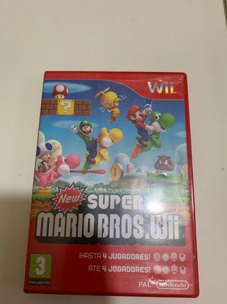New súper Mario beso wii