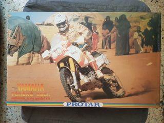 Maqueta moto, YAMAHA TENERE 660 cc. de Protar 1/9.