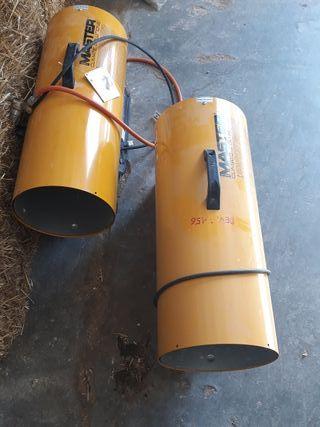 Vendo 2 calefactores a gas propano