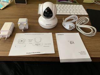 Camara vigilancia para bebes y mascotas 1080p WIFI