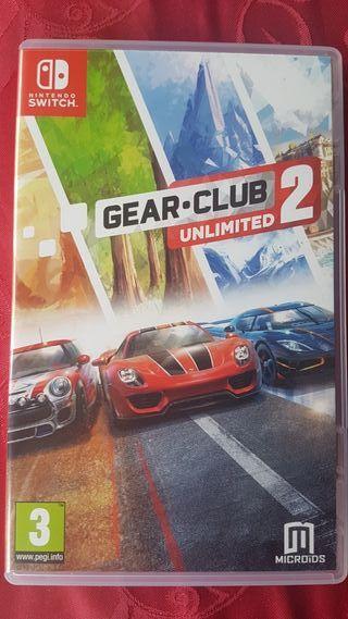 Videojuego GEAR CLUB 2 para Nintendo Switch. NUEVO