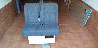 asiento doble conpleto