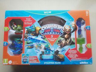 Wii U - SKYLANDERS TRAP TEAM - JUEGO Y PORTAL