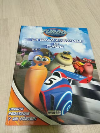 Vendo libro infantil de la película turbo