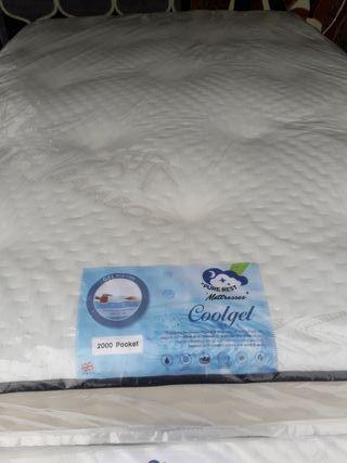 2000 pocket luxury gel foam mattresses