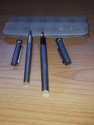 Bolígrafo y Pluma Pierre Cardin.