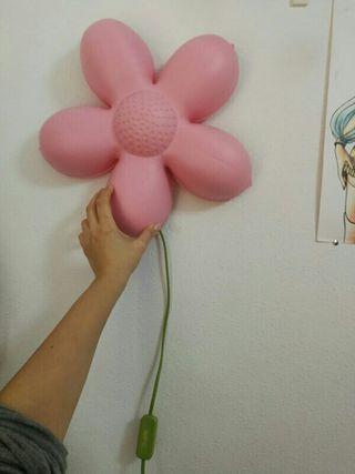 lámpara flor