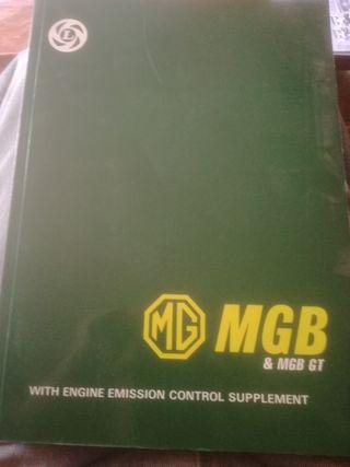 Workshop Manual de M G B /MGB GT