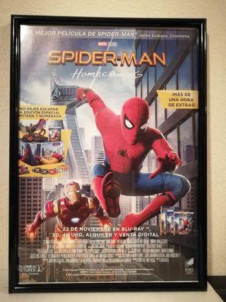 Cuadro Decorativo Spiderman Homecoming
