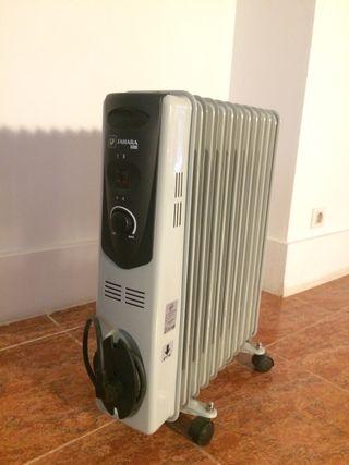 Estufa/radiador eléctrico aceite 2500w