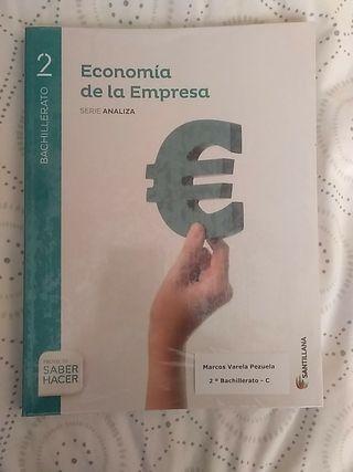 Libro Economía 2ºBach
