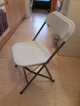 vendo sillas plegables