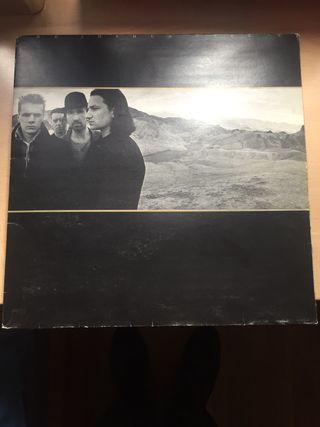 Disco vinilo U2. The Joshua Tree