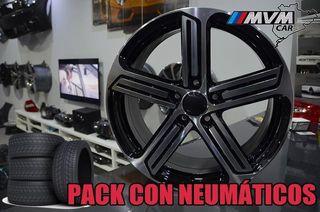 COD::X6532 Llantas 18 con Neumaticos PARA VW GOLF