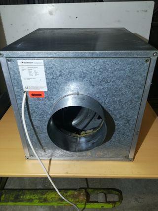 Caja extracción de humos
