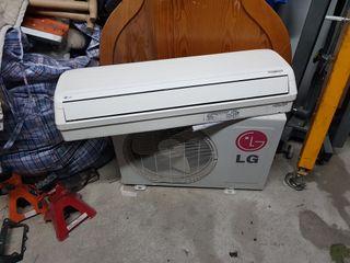 Aire acondicionado marca LG