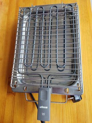 Plancha de cocina eléctrica para asar