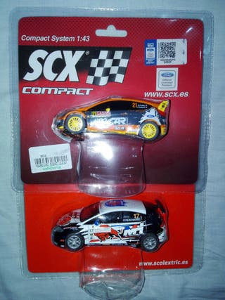 scalextric compact / lote de 2 coches