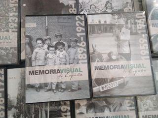 Memoria Visual de España. 12 DVD precintados