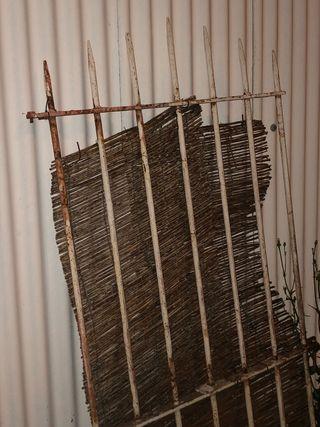 Puertas de hierro de segunda mano en wallapop for Muebles rey terrassa